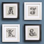 World City Alphabet Mini-Prints