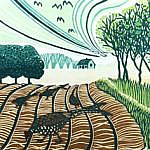 Pheasants in the Furrows